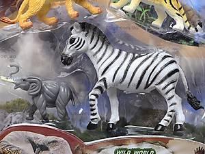 Комплект игрушечных животных, 9607..9614, купить