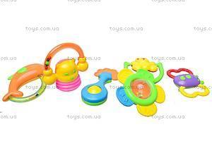 Комплект игрушечных погремушек, 4306-1