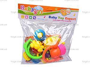 Комплект игрушечных погремушек, 4306-1, цена