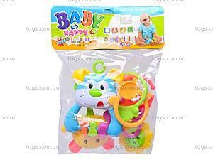 Комплект игрушек-погремушек для детей, 8402B, цена