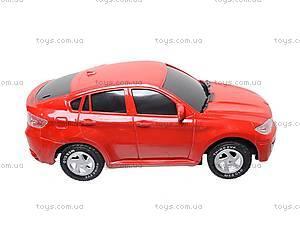 Комплект инерционных авто BMW X6, 8881P, игрушки