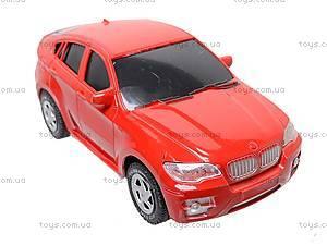 Комплект инерционных авто BMW X6, 8881P, детские игрушки