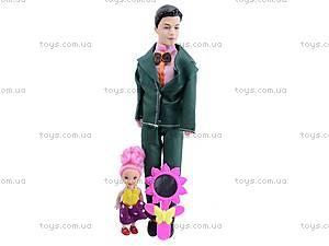 Комплект кукол «Семья», 3381, фото