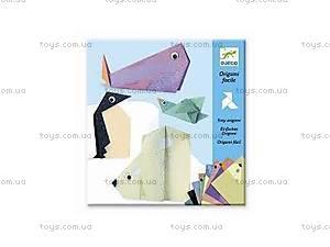 Комплект оригами «Полярные животные», DJ08777