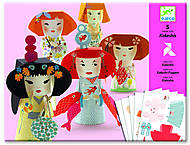 Комплект оригами «Японские кокетки», DJ09672, іграшки