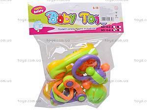 Комплект погремушек детский, 10-6C, магазин игрушек