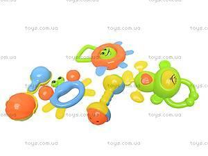 Комплект погремушек для малышей, 5002A, фото