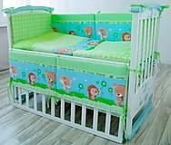 Комплект постельный Лесные друзья 6 элементов, КТ-0106, детские игрушки