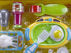 Комплект посуды с плитой для детей, WD-G12, купить