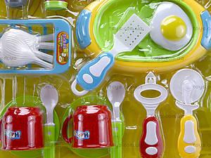 Комплект посуды с плитой для детей, WD-G12, отзывы