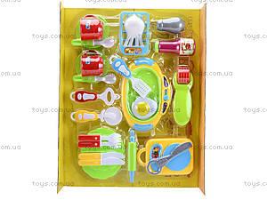 Комплект посуды с плитой для детей, WD-G12, цена