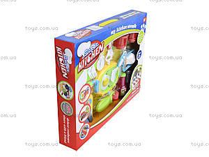 Комплект посуды с плитой для детей, WD-G12, магазин игрушек