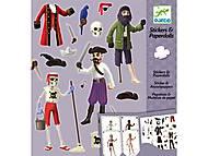 Комплект с наклейками «Пираты», DJ09692, фото