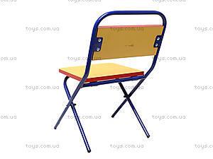 Складной стол и стул «Машинки», синий, , фото