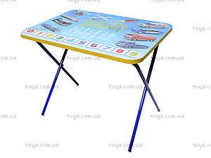 Складной стол и стул «Машинки», синий, , детские игрушки