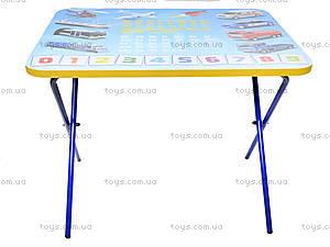 Складной стол и стул «Машинки», синий, , магазин игрушек