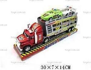 Комплект «Трейлер с машинами», 234-6