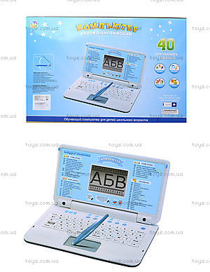 Детский компьютер «PLAY SMART» со стилусом, 7397