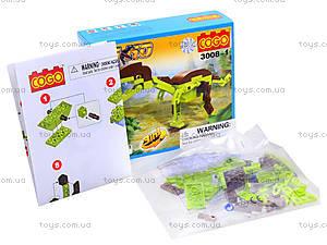 Конструктор Cogo «Динозавры», 3008, купить