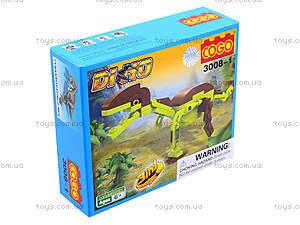 Конструктор Cogo «Динозавры», 3008, отзывы