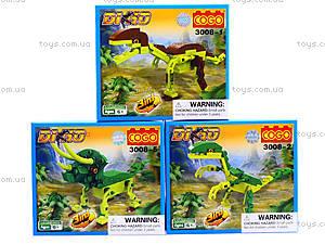 Конструктор Cogo «Динозавры», 3008, цена
