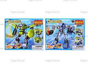 Конструктор COGO «Трансформер», 4841-4848, игрушки