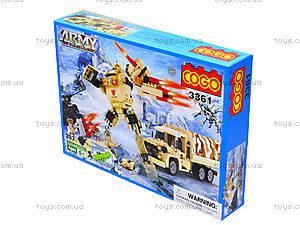 Конструктор COGO «Военная техника», 280 деталей, 3361, купить