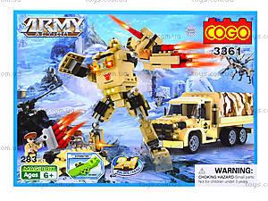 Конструктор COGO «Военная техника», 280 деталей, 3361, отзывы