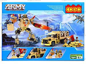 Конструктор COGO «Военная техника», 280 деталей, 3361, цена