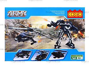 Конструктор COGO «Военная техника», 316 деталей, 3363, купить