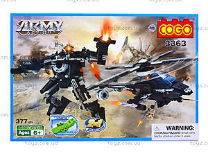 Конструктор COGO «Военная техника», 316 деталей, 3363, цена