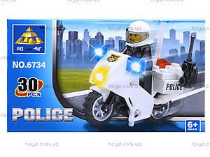 Конструктор Kazi «Полиция», 30 деталей, 6734, отзывы