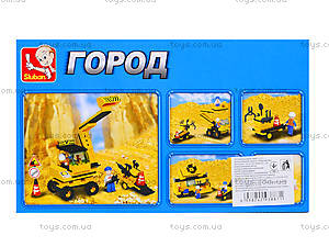 Детский конструктор «Строительная техника», M38-B9600, цена