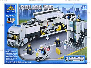 Конcтруктор детский «Полицейский участок», 511 деталей, 6727, отзывы