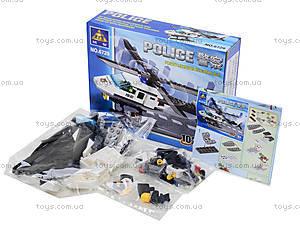 Конструктор «Полицейский вертолет», 102 детали, 6729, фото