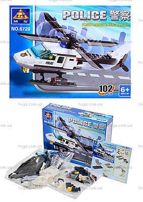 Конструктор «Полицейский вертолет», 102 детали, 6729