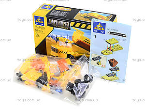 Конструктор для детей «Строительная техника», 59 деталей, 8035, фото