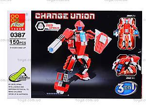 Конструктор детский «Трансформер-транспорт», 0386-0389, отзывы