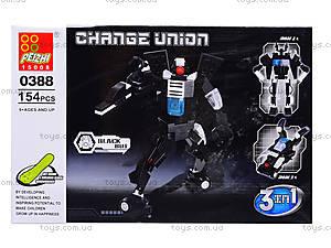 Конструктор детский «Трансформер-транспорт», 0386-0389, игрушки