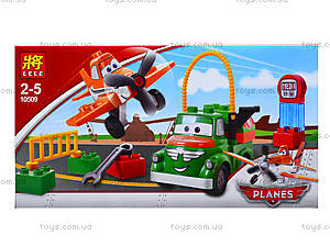 Детский конструктор Planes, 16 деталей, 10509, цена