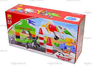 Детский конструктор Planes, 40 деталей, 10510, цена