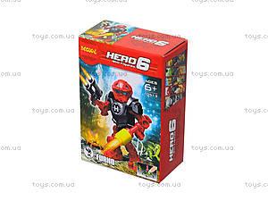 Конструктор для мальчиков Hero 6, 10511-10515, купить
