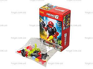Конструктор для мальчиков Hero 6, 10511-10515, фото