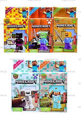 Конструктор для детей Minecraft, 6 видов, 14150