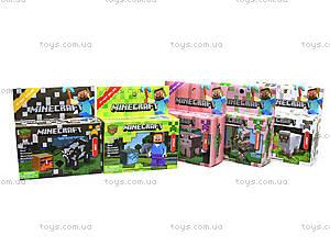 Конструктор для детей Minecraft, 14170, игрушки