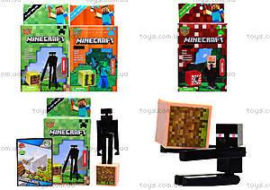 Детский конструктор Minecraft, 6 видов, 14177