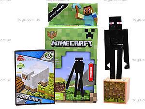 Детский конструктор Minecraft, 6 видов, 14177, игрушки
