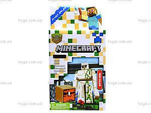 Детский конструктор Minecraft, 6 видов, 14177, магазин игрушек