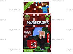 Детский конструктор Minecraft, 6 видов, 14177, toys.com.ua