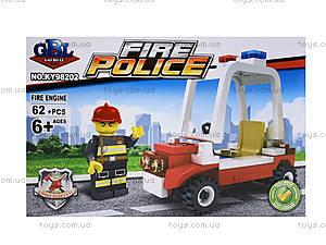 Конструктор детский «Пожарная охрана», 62 элемента, KY98202, отзывы